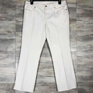 Tory Burch Cropped Slim Boot Jeans  Size 30
